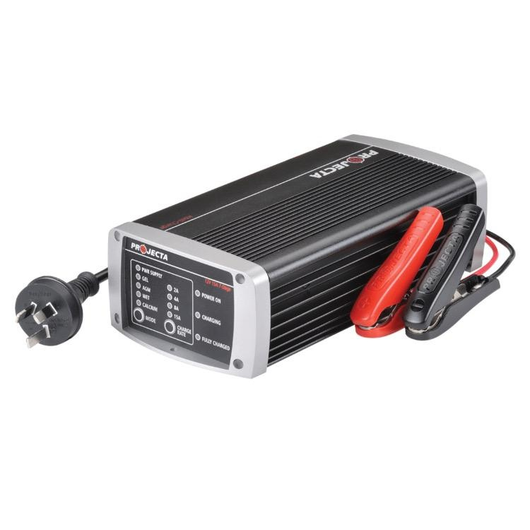Projecta 12V Automatic 15 Amp 7 Stage Battery Charger