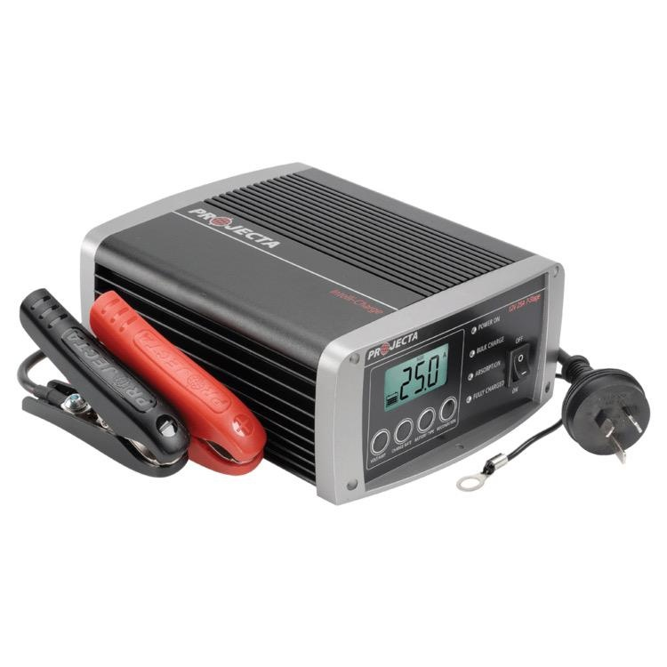 Projecta 12V Automatic 25A 7 Stage Battery Charger