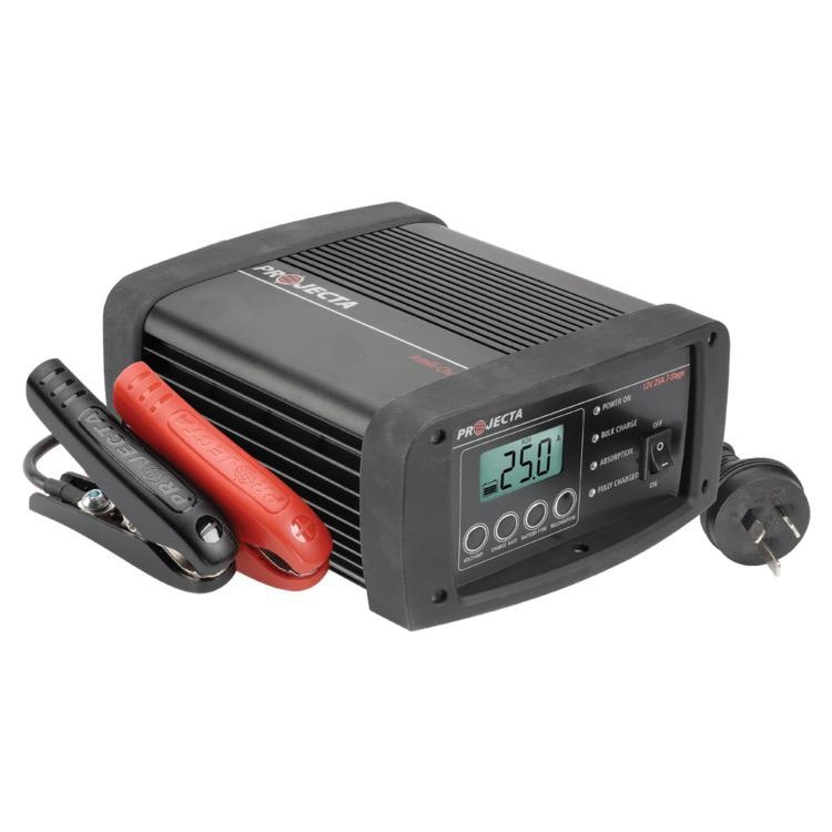 Projecta 12V Automatic 25A 7 Stage Workshop Battery Charger