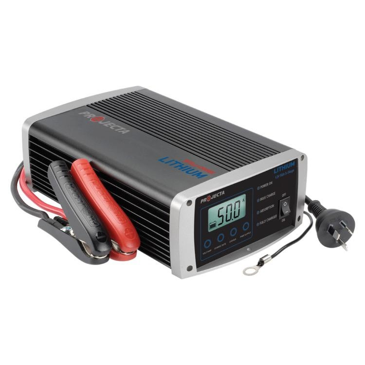 Projecta 12V Automatic 50 Amp 5 Stage Lithium Battery Charger