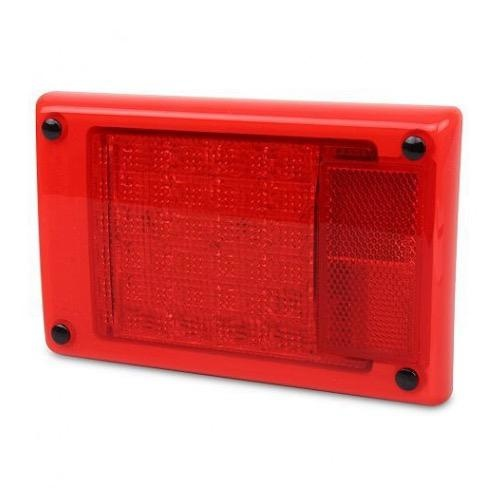 Hella Jumbo LED Module Stop /Rear Position Lamp w/ Red Retro Reflector