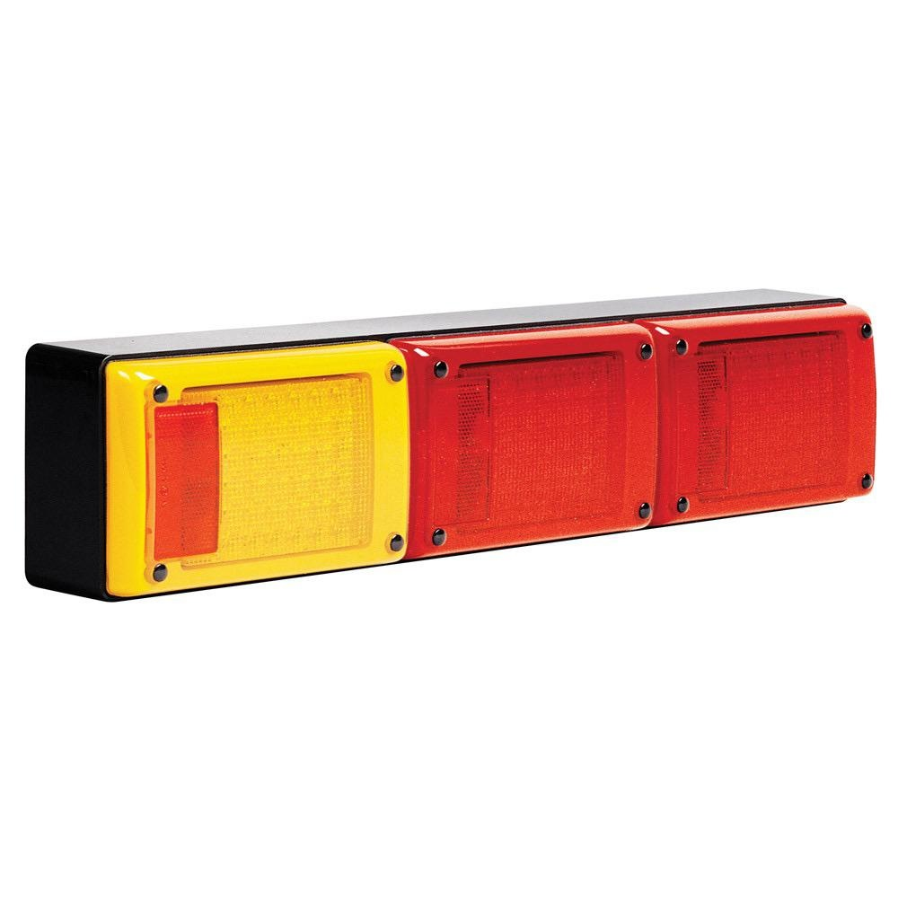 Hella Jumbo LED Triple Module Stop/Rear Position/Rear Direction Indicator Lamp