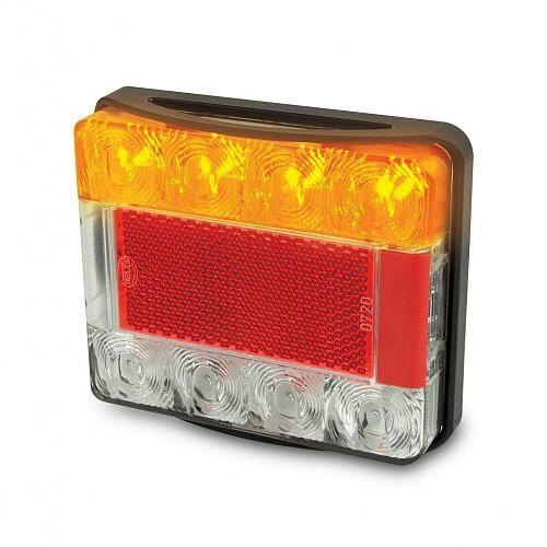 Hella LED Stop/Rear Position/Rear Direction Indicator Lamp w/ Licence Plate Function - 12V DC