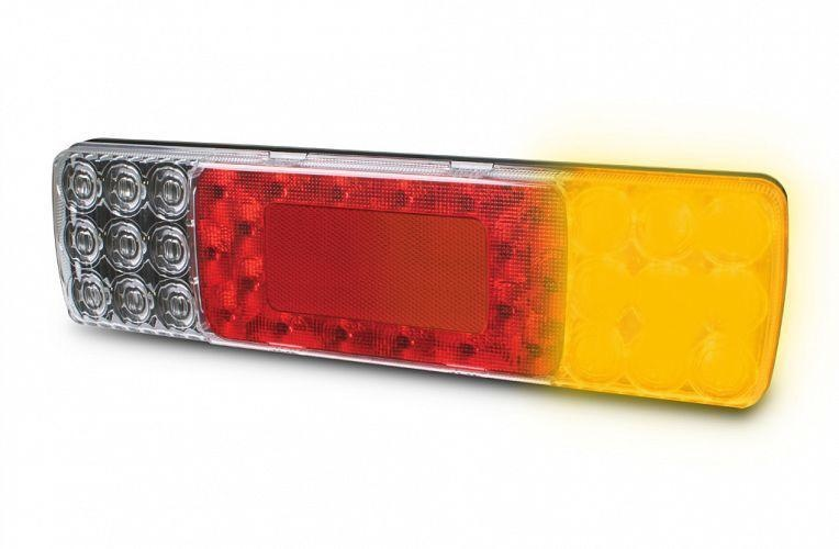Hella LED Stop/Rear Position/Rear Direction Indicator/Reversing Lamp w/ Retro Reflector