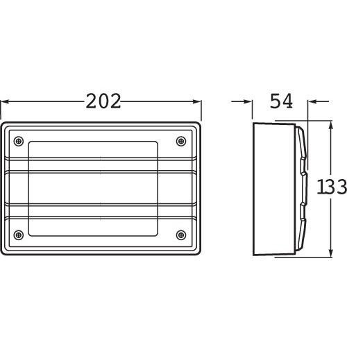 Hella Designline LED Module Rear Direction Indicator Lamp - Horizontal