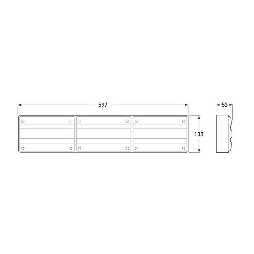 Hella Designline LED Triple Module Stop/Rear Position/Rear Direction Indicator/Reversing Lamp