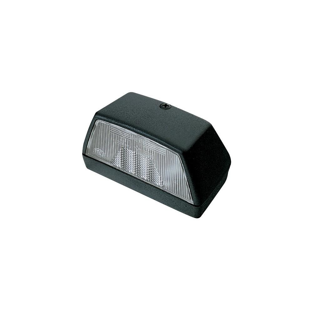 Hella Licence Plate Lamp - Surface Mount - 12V