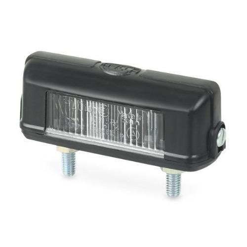 Hella Licence Plate Lamp - Surface Mount - Two Bolt Mount
