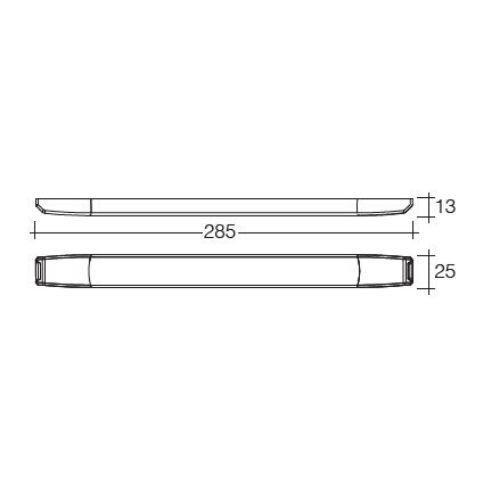 Narva 12V Dual Colour L.E.D Strip Lamp w/ Touch Switch (White/Red)