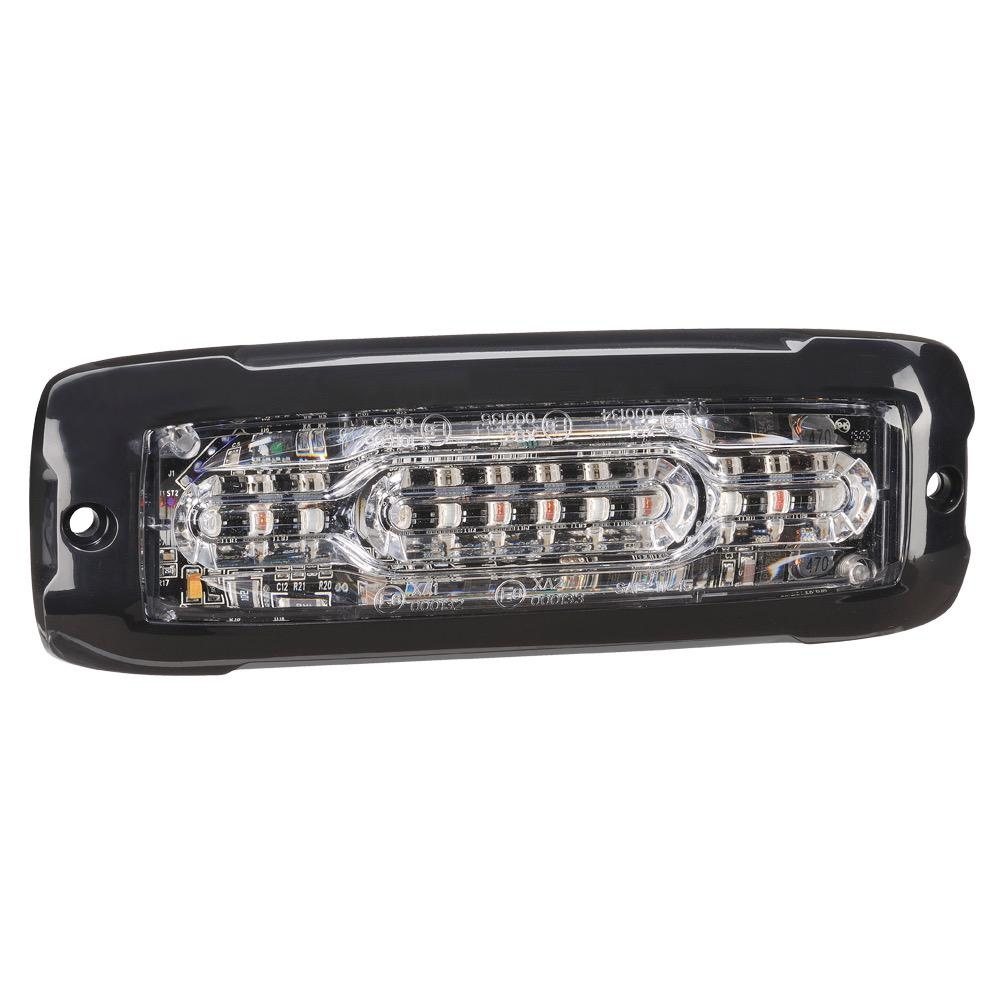 Narva 12/24V High Powered Low profile L.E.D Warning Light 6 x 1 Watt L.E.Ds w/ Multiple Flash Patterns