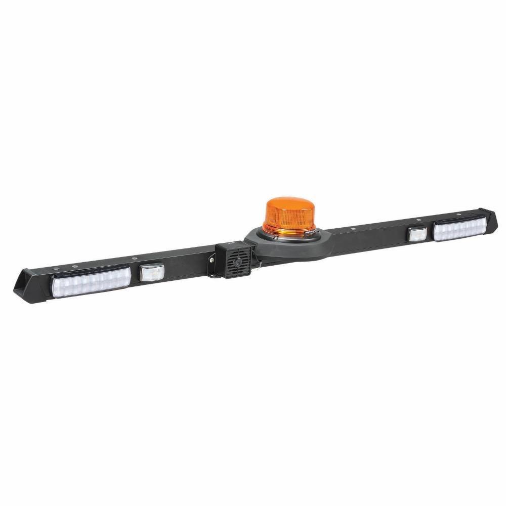 Narva 12/24V L.E.D Low Profile Rotating Strobe Utility Bar - 1.2m - w/o Reversing Alarm
