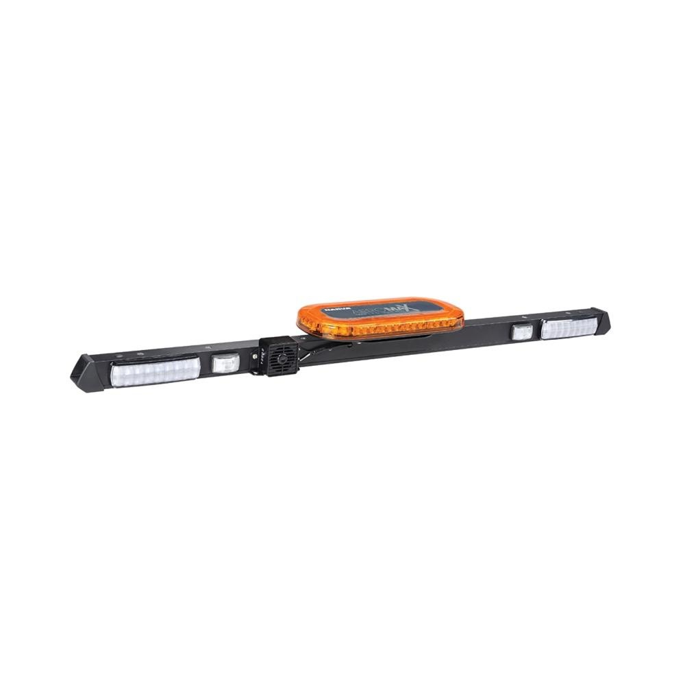 Narva 12/24V L.E.D Light Box Utility Bar - 1.2m - w/ Broadband Reversing Alarm