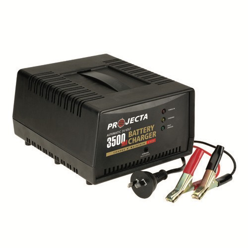 Projecta Charge N' Maintain Automatic 24V 3500mA 2 Stage Battery Charger