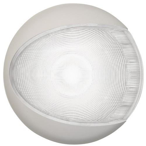 Hella Euroled 130 LED Surface Mount Light White Light, White Housing 9-33V DC