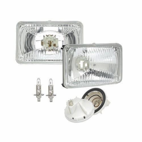 2 x H1 Car Halogen Headlight Headlamp Fog Bulb 12v 55w Quality E Aproved Halogen