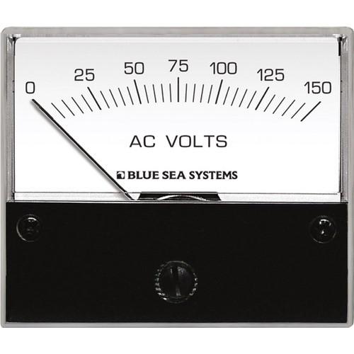 Blue Sea Systems AC Voltmeter - 0 to 150V AC