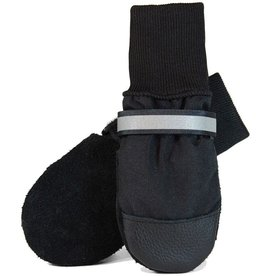MuttLuks All Weather Shoes Black Itty Bitty