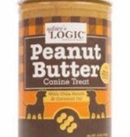 Natures Logic Peanut Butter Canine Treat 12oz