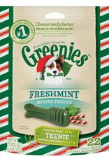 Greenies Freshmint Seasonal Teenie 6oz