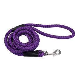 Coastal Pet Products Coastal Rope Leash Purple 6'