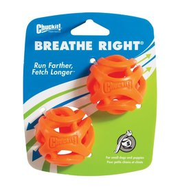 Chuckit Breath Right Fetch Ball Small 2 pack