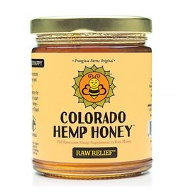 Colorado Hemp Honey Raw Relief Jar 6oz