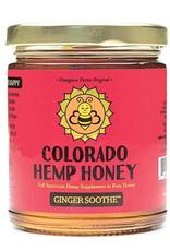 Colorado Hemp Honey Ginger Soothe Jar 6oz