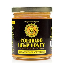 Colorado Hemp Honey Turmeric Black Pepper Jar 6oz