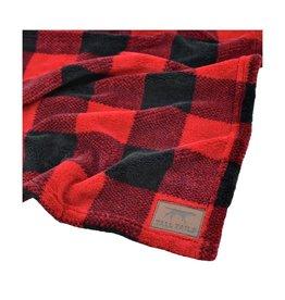 """Tall Tails Fleece Blanket Hunters Plaid 30""""x40"""""""