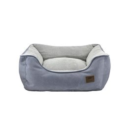 """Tall Tails Bolster Bed Charcoal Large 30""""x27""""x9"""""""
