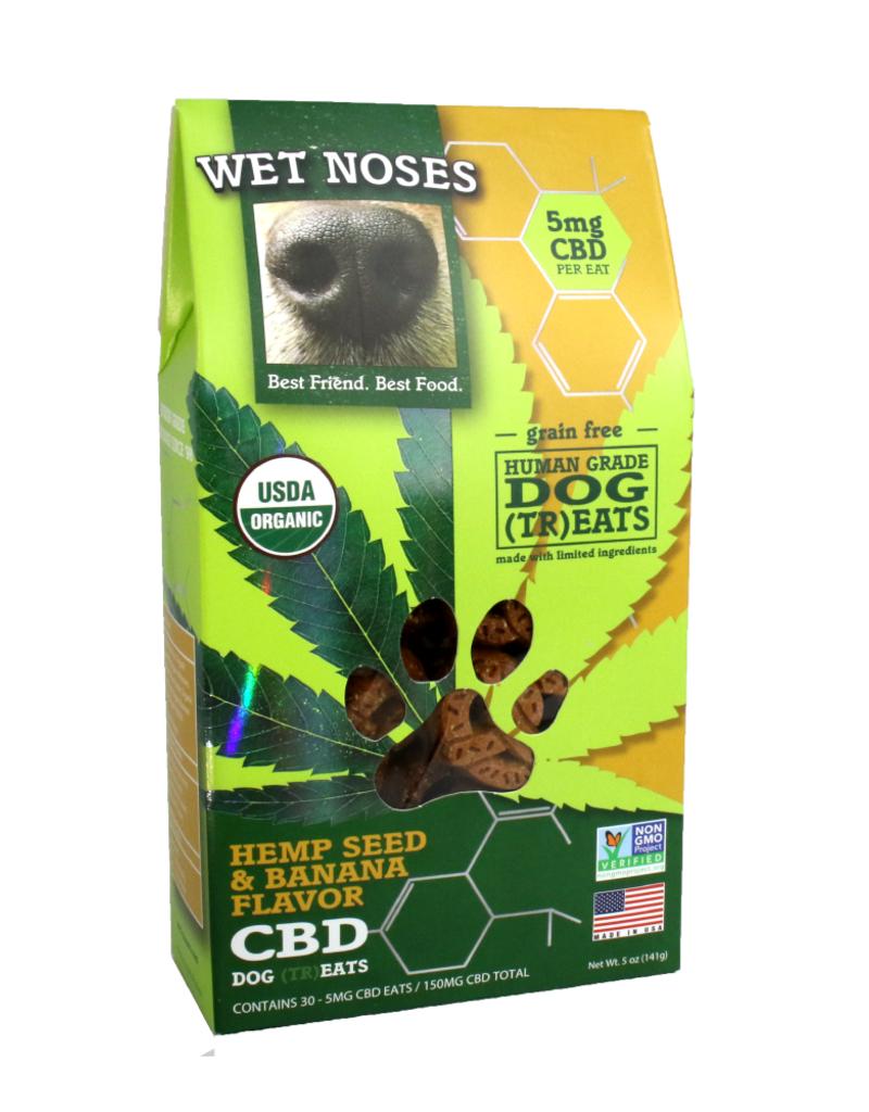 Wet Noses Hemp Banana CBD Treats 5oz