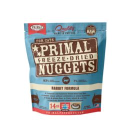 Primal Pet Foods Freeze Dried Rabbit 14oz for Cats