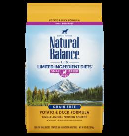 Natural Balance 12 lbs LID Potato & Duck Small Breed Dog Food