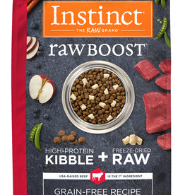 Natures Variety Instinct Raw Boost Grain Free Beef 4 lbs