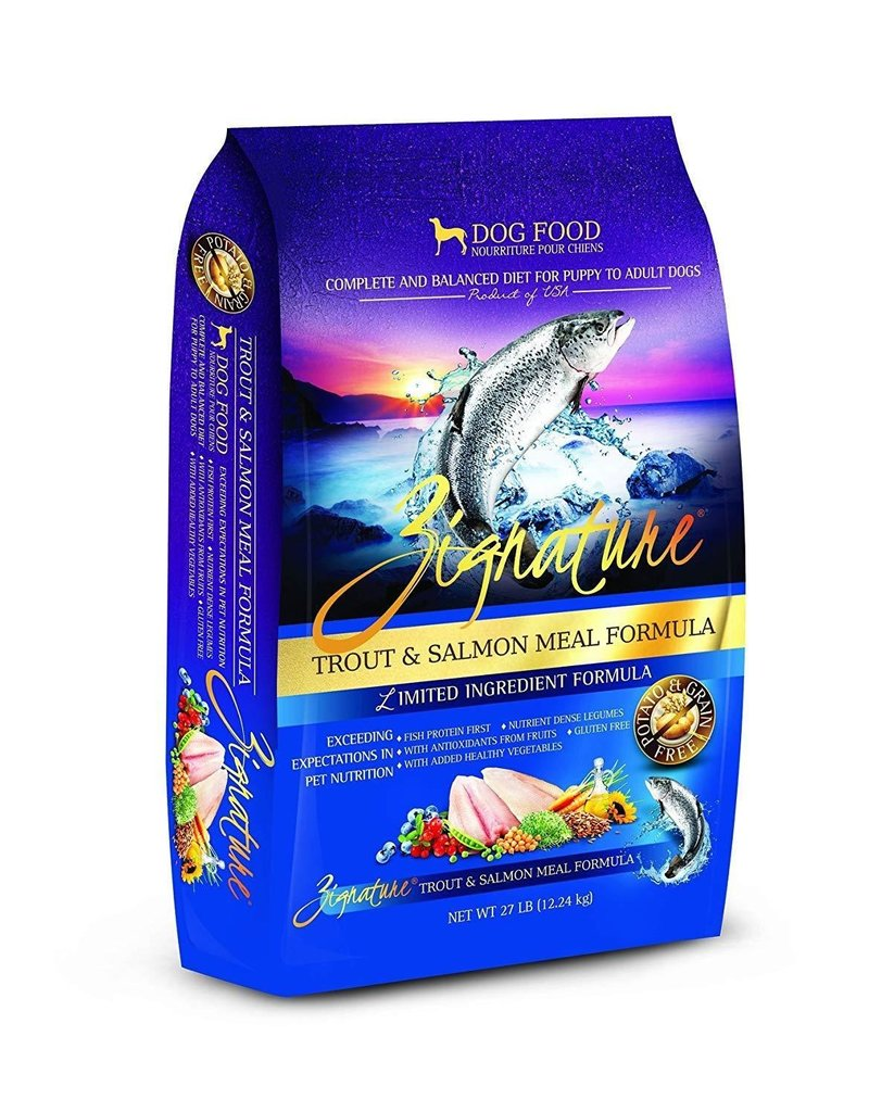 Pets Global Zignatures Wild Trout & Salmon Dog 27lbs