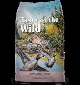 Taste Of The Wild Lowland Creek Quail & Duck Feline 14lbs