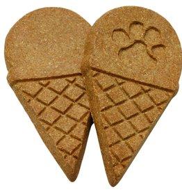 Wet Noses Howlin Goodies Carob Crunch Ice Cream Cone - Bulk