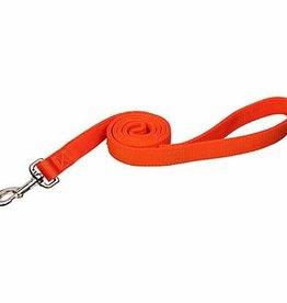 """Coastal Pet Products Coastal 1"""" Double Training Lead Sunset Orange 6'"""