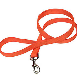 "Coastal Pet Products Coastal 3/4"" Training Lead Sunset Orange 6'"