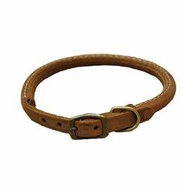 "Coastal Pet Products Coastal 3/4"" Rustic Leather Collar Chocolate 18"""