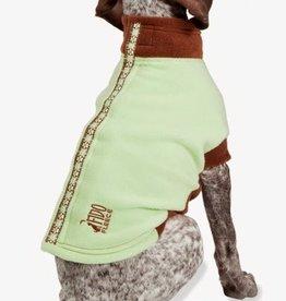 """Pet Safe Fido Fleece Green Brown Size 24"""""""