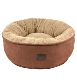 """Tall Tails Donut Bed Brown small 18""""x18"""""""
