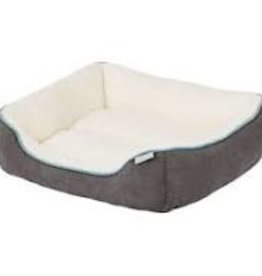 """Tall Tails Bolster Bed Charcoal Small 17""""x15""""x8"""""""