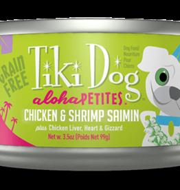 Tiki Dog Chicken & Shrimp Saimin 3.5oz
