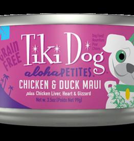 Tiki Dog Chicken & Duck Maui 3.5oz