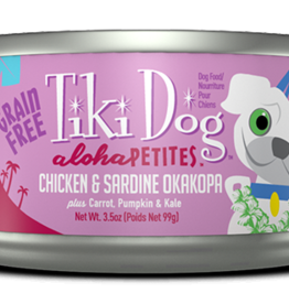 Tiki Dog Chicken & Sardine Okakopa 3.5oz