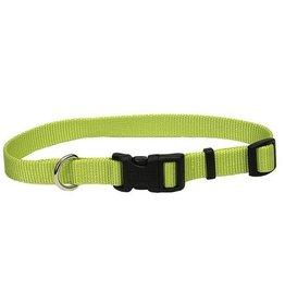 "Coastal Pet Products Coastal 5/8"" Tuff Collar Lime 14"""