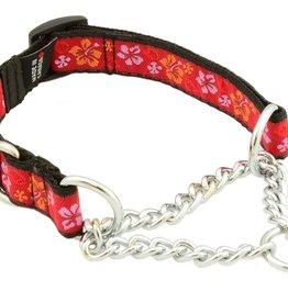 "Silverfoot Training Collar W/Buckle Small 10-16"" Maui Waui Red"
