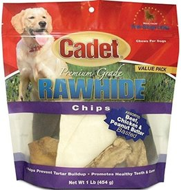 IMS Trading Rawhide Chips Assorted Flavor 1lb