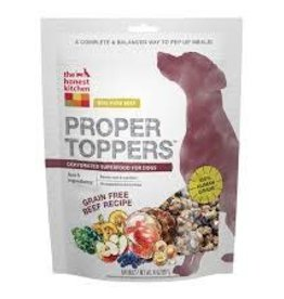 The Honest Kitchen Proper Toppers GF Beef 14 oz